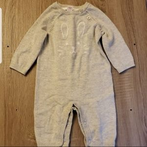 **5 for $15** Grey infant body bunny body suit